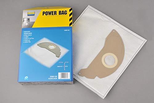 Sacchetti filtro in velo per aspirapolvere karcher 6904322 / k13