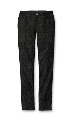 Hose Cordhose Slim Leg Damen von Eddie Bauer - Anthrazit Gr. 4 (Baumwolle Im Five-pocket-cordhose)