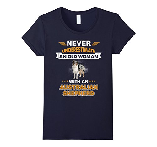 an-old-woman-with-australian-shepherd-t-shirt-damen-grosse-l-navy
