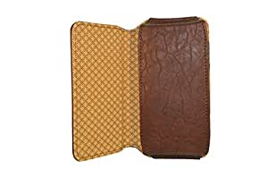 TOTTA PU Leather Hand Pouch For Gionee Dream D1- Brown