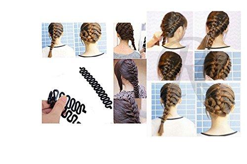 Magisches Zubehör zum Flechten der Haare
