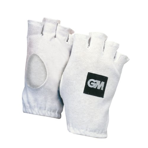 GM Gunn & Moore Fingerlose Cricket-Innenhandschuhe aus Baumwolle, Jungen