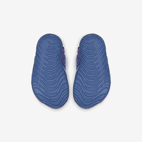 0ff7f506e69f2 Nike Sunray Protect 2 (TD), Zapatos de Playa y Piscina Unisex niño,  (Aluminum/Volt/Indigo Storm 000), 27 EU
