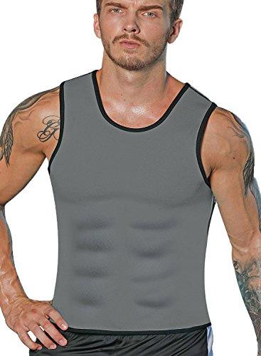 Hot Body Shaper Sauna Sweat Suit Herren Neopren Abnehmen Weste Gewicht Verlust Taille Trainer Top Workout Bauch von ribika -