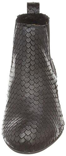 Noe Antwerp Nax, Stivali classici imbottiti a gamba corta donna Nero (Schwarz (NERO 101))