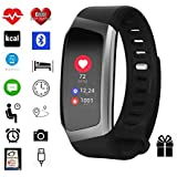 Fitness-Tracker von Torus Pro, Smartwatch, Fitness-Watch, Gewichtsverlust, Fitness, Bluetooth, Kalorienzähler, Anti-Verlust-Funktion
