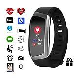 Monitor de actividad por Torus Pro Reloj inteligente, fitness, pérdida de peso, ajuste y permanencia ajustado, monitor de frecuencia cardíaca,