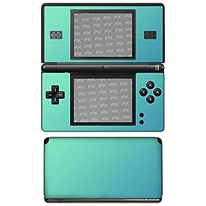 atFoliX Skin kompatibel mit Nintendo DS-Lite, Designfolie Sticker (FX-Variochrome-Lapis-Blue), Mehrfarbig schillerndes Farbspiel