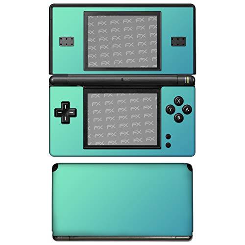 """atFoliX Nintendo DS-Lite Skin """"FX-Variochrome-Lapis-Blue"""" Designfolie Sticker - Mehrfarbig schillerndes Farbspiel"""
