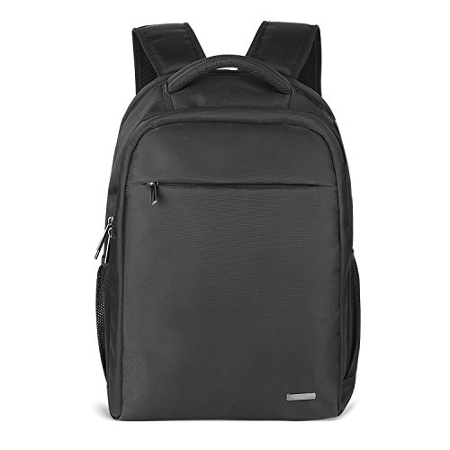 0a41fff6e8 PRASACCO Slim Laptop Backpack Water Resistant 15.6 Inch Laptop Bag Business  School Backpack for Men and