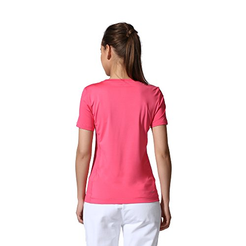 Adidas clima essentials 3-stripes t-shirt pour homme Rose - Rose/Blanc
