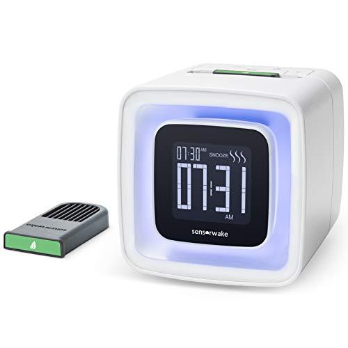 Sensorwake Wecker OLFACTORIUS, Kunststoff, weiß, 10x 10,5x 10,2cm -