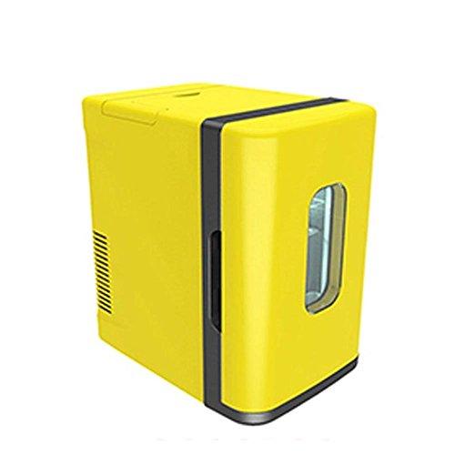 Mini-Auto Kühlschrank Low Power Student Wohnheim Gefrierschrank weiß gelb , pearl Auto Kühlschrank tragbaren tragbaren tragbaren KühlerKühlen und Heiz-Funktion, tragbarer Mini-Kühlschrank,