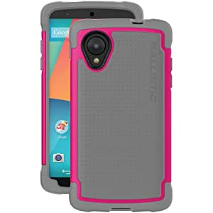 Ballistic SG Series Case for LG Nexus 5, D820 - Charcoal And Raspberry