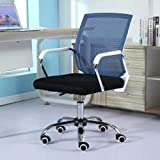 Presidente Sedia a rotelle scorrevole di sollevamento della struttura bianca della sedia di conferenza della sedia di conferenza dello sgabello della sedia di computer portatile sollevata girante rego