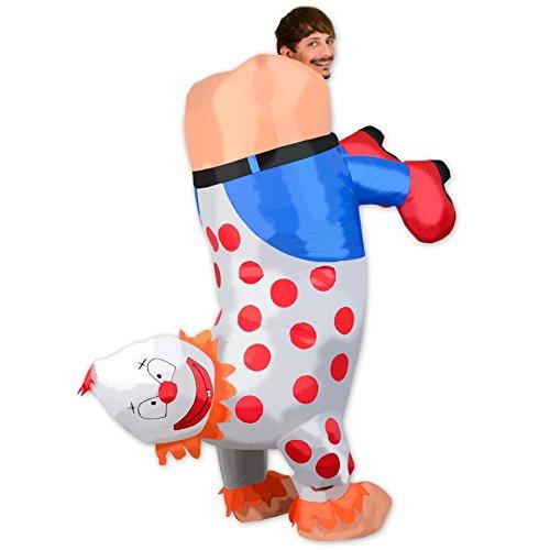 Aufblasbare Clowns Oktoberfest Halloween Kostüme Blow Up Party Cosplay (Luft Kostüm Up Blow)