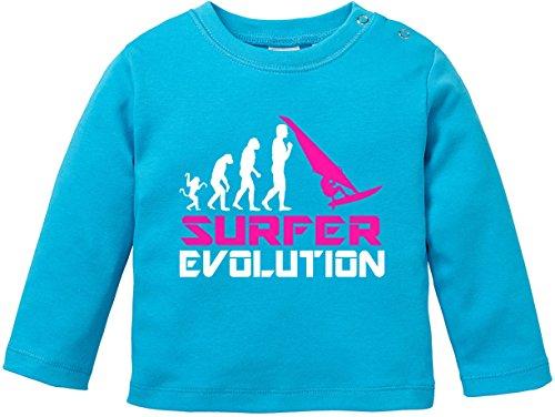 ezyshirtr-surfer-evolution-baby-t-shirt-longsleeve