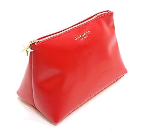 Givenchy Big auto-adhésifs Trapèze rouge Pochette/cosmétique/maquillage Sac * * * * * * * * NEUF