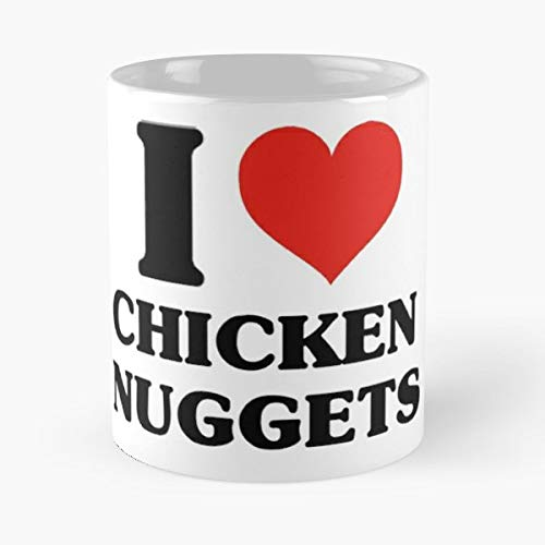 Chicken Nuggets Lov Best Gift Ceramic Coffee Mugs -
