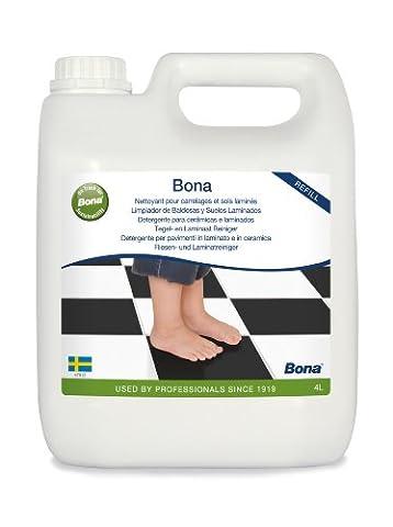Bona Stone, Tile and Laminate Cleaner Refill 4L