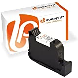 Bubprint Druckerpatrone kompatibel für HP 15 HP15 für Deskjet 3810 3820 816C 840C 845C 916C 920C 940C Officejet 5105 5110 PSC 500 720 750 950 Schwarz