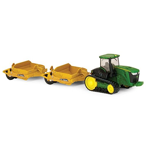 John Deere Scraper (1/64th John Deere 9560RT with (2) Scrapers by TOMY)