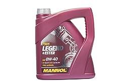 MANNOL Legend+Ester 0W-40 API SN/CF Motorenöl, 4 Liter