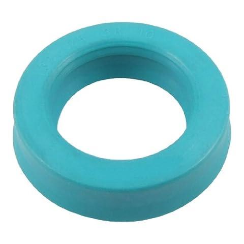 sourcingmap® 25mm x 38 mm x 10mm Piston Hydraulique Biellette Simple Lèvre PU Huile Graisse Joint U32i