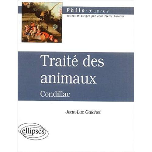 Traité des animaux, Condillac
