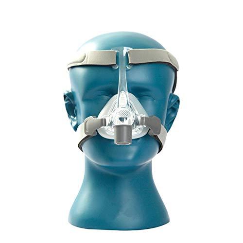 WODT Nasenmaske Silikongel Kissen Schlaf Schnarchen Apnoe Gesundheit & Schönheit,M -