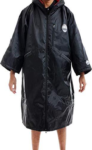 Alder Polar Coat-100% wasserdicht und winddicht wechselnden Trocknen Bademantel Poncho-Surf/Schwimmen/Tauchen/Kajak/Segeln/Jet-Ski/Triathlons/Rugby/Fußball/Motocross/spectating/ - Polar-poncho