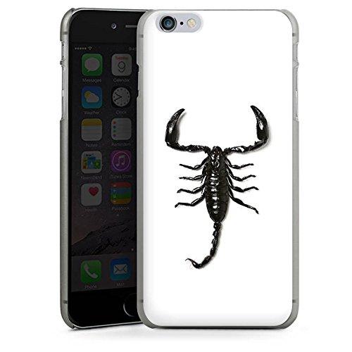 Apple iPhone X Silikon Hülle Case Schutzhülle Skorpion Scorpion Schwarz Hard Case anthrazit-klar
