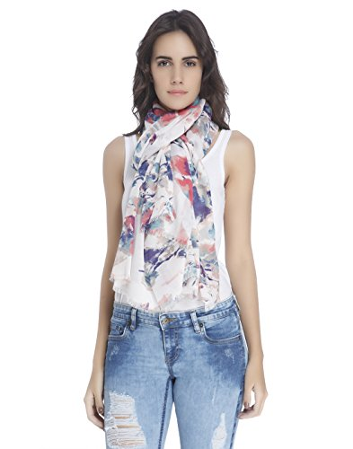 Vero Moda Women's Casual Long Scarves (_5713239008765_White_Free Size_)  available at amazon for Rs.699