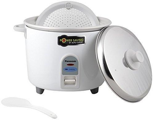 Panasonic SR-WA18-E 4.4-Litre Automatic Rice Cooker (White)