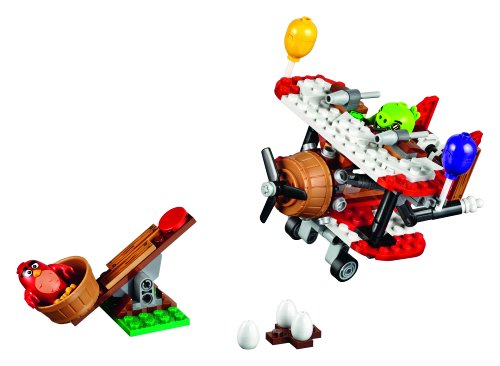 Image of LEGO 75822 Angry Birds Piggy Plane Attack Building Set