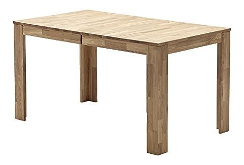 Robas Lund Tisch Esstisch Fritz Holz Eiche ausziehbar 140x 80x 76cm