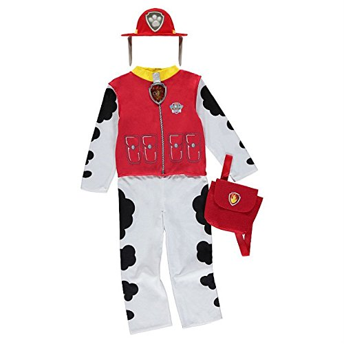 Boys paw patrol marshall fancy dress costume 5-6 years