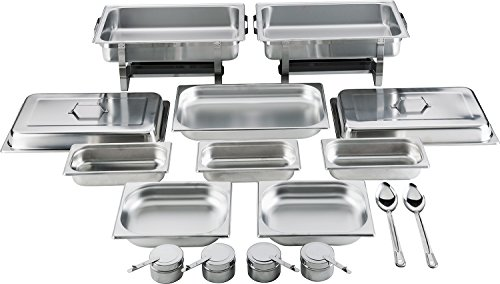 batania 2 Chafing Dish/Speisewärmer 14 teilig Exklusiv