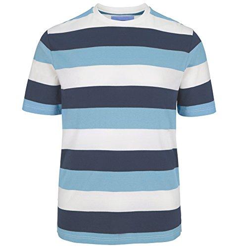 JAN VANDERSTORM Herren T-Shirt SNORRE in Übergröße bis 6XL - NEU - Hellblau