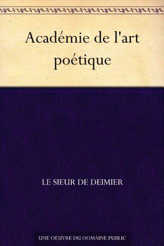 Livres électroniques gratuits à télécharger en pdf Académie de l'art poétique CHM