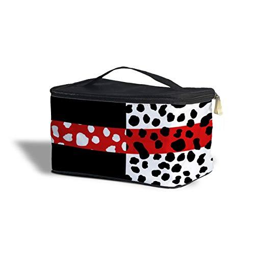 he Cruella De Vil Disney Casual Chic Villains Inspired Cosmetics Storage Case One Size Cosmetics Storage Case Kosmetik Etui Kosmetikorganiser Taschen ()