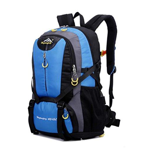 Wmshpeds Grande capacità può essere estesa outdoor alpinismo sacco spalle borsa per computer moda tempo libero zaino borsa C