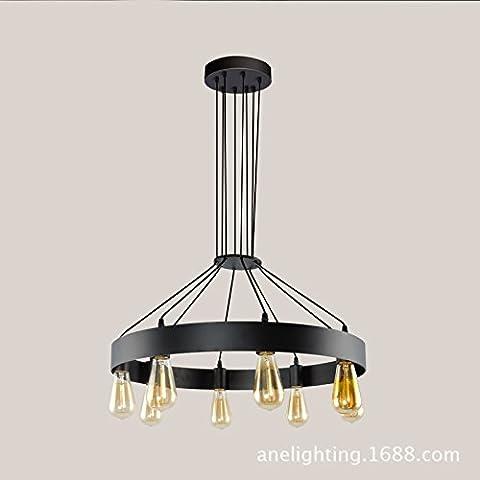 BBSLT Bague ligne chandelier en fer forgé , tête 8 600*950mm