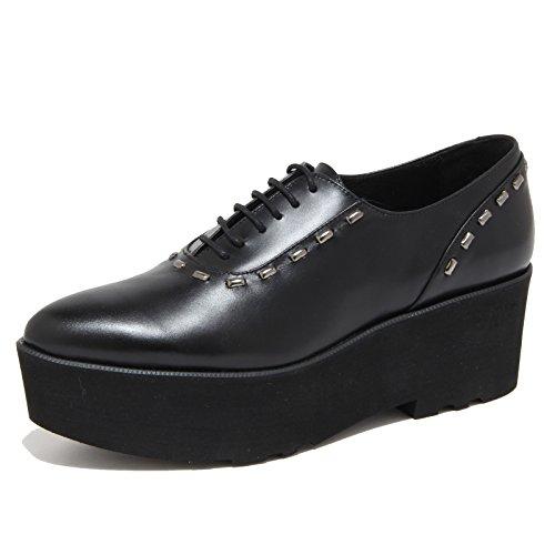 4155N scarpa allacciata PALOMITAS scarpe donna shoes woman nero [36]