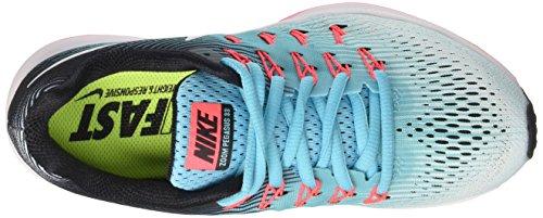 Nike Damen Wmns Air Zoom Pegasus 33 Laufschuhe Türkis (blu Ghiacciaio / Bianco / Blu Polarizzato / Nero)