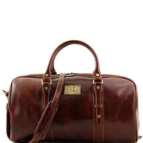 Tuscany Leather Francoforte Sac de voyage en cuir - Petit modèle Marron