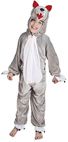rall Kostüm Kinder Gr.bis max. 116 cm Körpergröße (Hund Wolf Kostüm)