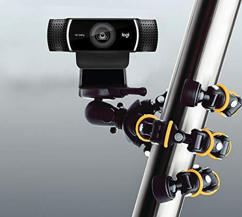 TronicXL Tripod 32,5cm 150W Stativ kompatibel für Webcam zb Logitech C920 Brio 4K C925e C922x C922 C930e C930 C615 Kamera Microsoft etc