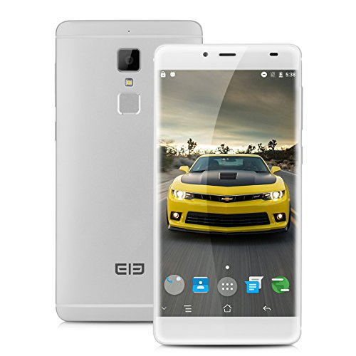 Elephone S3 Smartphone 4G LTE 5.2'' IPS FHD Android 6.0 MT6753 Octa Core 1.3GHz 3GB RAM 16GB ROM 13.0MP Fotocamera Cellulare Dual SIM GPS WIFI Argento