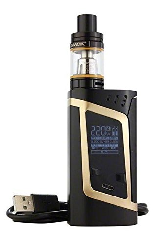 41z%2BWgZs7FL - GENUINE SMOK ALIEN KIT GOLD 220W w/ TFV8 BABY TANK OEM by VAPORCOMBO Reviews and price compare uk